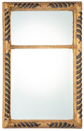 Furniture, A Continental Carved Giltwood Mirror, 19th century. 40 x 28 x 2 inches (101.6 x 71.1 x 5.1 cm). Property from the Dr. Da...