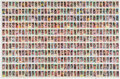 Basketball Cards:Sets, 1980 Topps Basketball Uncut Sheets With Two Bird/Magic Rookie Cards. ...