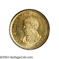 Commemorative Gold: , 1905 G$1 Lewis and Clark MS64 PCGS. A semi-prooflike, ...