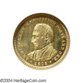 Commemorative Gold: , 1905 G$1 Lewis and Clark MS64 NGC Prooflike. This is a ...