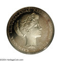 Coins of Hawaii: , 1895 $1 Huth Hawaii Silver Dollar PR63 Deep Cameo NGC. 2MH-...
