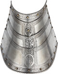 Militaria:Armor, Horse Armor Etched in the Italian Manner.. ...