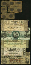 Obsoletes By State:Louisiana, New Orleans, LA- New Orleans, Jackson & Great Northern Rail Road Company $3 Nov. 10, 1861 Very Fine;. Hagerstown, MD- ... (Total: 6 notes)