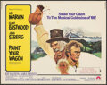"Movie Posters:Musical, Paint Your Wagon (Paramount, 1969). Rolled, Fine/Very Fine. Half Sheet (22"" X 28"") Ron Lesser Artwork. Musical.. ..."