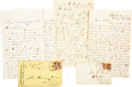 Military & Patriotic:Civil War, Archive of three letters: The Battle for Atlanta, July through September 1864.. ...