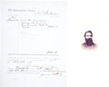 Military & Patriotic:Civil War, Confederate Document Signed by Famous 7th Virginia Cavalry...