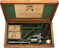 Handguns:Double Action Revolver, Exceptional Cased and Engraved Adams's Patent Double Action Central-Fire Breech-Loading Revolver. . ...