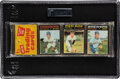 Baseball Cards:Unopened Packs/Display Boxes, 1971 Topps Baseball Unopened Rack Pack GAI NM+ 7.5 With Garvey Rookie Showing on Front. ...