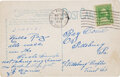 Baseball Collectibles:Others, 1933 Honus Wagner Handwritten & Signed Postcard....