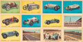 Miscellaneous Collectibles:General, 1960 Parkhurst Hawes Wax Indianapolis Motor Speedway Complete Set (50)....