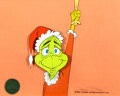 Animation Art:Production Cel, Dr. Seuss' How the Grinch Stole Christmas Blue-Eyed Grinch Production Cel Signed by Chuck Jones (MGM, 1...