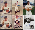 Autographs:Photos, Negro League Legends Signed Photographs, Lot of 14....