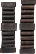 Military & Patriotic:Indian Wars, Two Benicia Arsenal Ammo Belts.. ... (Total: 2 Items)