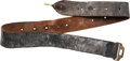 Military & Patriotic:Indian Wars, M1872 Enlisted Man's Leather Belt.. ...