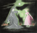 Animation Art:Concept Art, Mary Blair Cinderella Concept/Color Key Painting (Walt Disney, 1950)....
