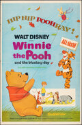 "Movie Posters:Animation, Winnie the Pooh and the Blustery Day (Buena Vista, 1969). Folded, Fine/Very Fine. One Sheet (27"" X 41""). Animation.. ..."