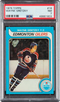 Hockey Cards:Singles (1970-Now), 1979 Topps Wayne Gretzky #18 PSA NM 7. ...