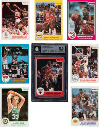 1985-86 Star Co. Basketball High-Grade Complete Set (172)
