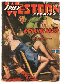 Spicy Western Stories - December 1942 (Culture) Condition: GD+