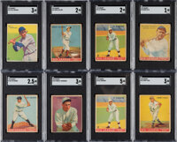 1933 Goudey Baseball Collection (135) With Ruth