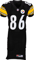 Football Collectibles:Uniforms, 2000 Hines Ward Game Worn & Signed Pittsburgh Steelers Jersey....