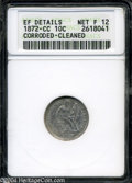Seated Dimes: , 1872-CC Fine12 ANACS. The current Coin Dealer ...