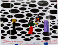 """Animation Art:Production Cel, The Beatles Yellow Submarine """"Sea of Holes"""" Production Cel Setup (United Artists/King Featur..."""