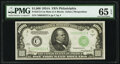 Small Size:Federal Reserve Notes, Fr. 2212-C $1,000 1934A Mule Federal Reserve Note. PMG Gem Uncirculated 65 EPQ.. ...