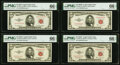 Small Size:Legal Tender Notes, $5 Legal Tender Notes. PMG Gem Uncirculated 66 EPQ;. Fr. 1532 1953; Fr. 1533 1953A; Fr. 1534 1953B; Fr. 1535 1953C.. ... (Total: 4 notes)
