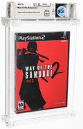 Video Games:Playstation, Way of the Samurai 2 - Wata 9.6 A+ Sealed, PS2 Capcom 2004 USA. ...