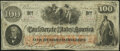 Confederate Notes:1862 Issues, T41 $100 1862 PF-10 Cr. 315A Very Fine.. ...