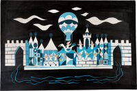 """Mary Blair""""It's a Small World"""" Concept Painting (Walt Disney, 1964-66)"""