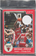 Basketball Cards:Sets, 1984-85 Star Co. Chicago Bulls Team Set (12) In Original Sealed Bag - Jordan Rookie! ...