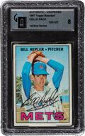 Baseball Cards:Unopened Packs/Display Boxes, 1967 Topps Baseball (1st/2nd Series) Cello Pack GAI NM-MT 8. ...