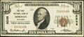 National Bank Notes:Oklahoma, Norman, OK - $10 1929 Ty. 1 The First National Bank Ch. # 5248 Very Fine+.. ...