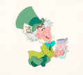 Animation Art:Presentation Cel, Alice in Wonderland Mad Hatter Production Cel (Walt Disney, 1951)....