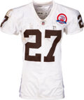 Football Collectibles:Uniforms, 2009 Knowshon Moreno Game Worn & Unwashed Denver Broncos Throwback Rookie Jersey - Used 10/19 vs. Chargers....