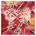 Prints & Multiples, James Rosenquist (1933-2017). 4 Off for Pavilion, 1985. Lithograph in colors on wove paper. 27 x 27 inches (68.6 x 68.6 ...