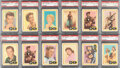 Non-Sport Cards:Lots, 1960 Fleer Spins and Needles PSA Graded Collection (12). ...