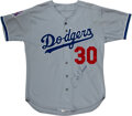 Baseball Collectibles:Uniforms, 1995 Jose Offerman All-Star Game Worn Los Angeles Dodgers Jersey with MLBPA & N.L. Provenance!...