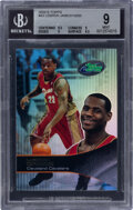 Basketball Cards:Singles (1980-Now), 2003 E-Topps LeBron James #43 BGS Mint 9. ...