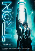"""Movie Posters:Action, Tron: Legacy (Walt Disney Pictures, 2010). Rolled, Very Fine-. Laminated Bus Shelter (47.25"""" X 68.25"""") DS Advance. Action.. ..."""