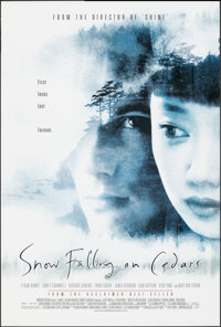 """Snow Falling on Cedars (Universal, 1999). Rolled, Very Fine+. One Sheet (26.75"""" X 39.75"""") DS. Drama"""