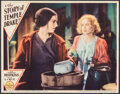 """Movie Posters:Foreign, The Story of Temple Drake (Paramount, 1933). Very Fine+. Lobby Card (11"""" X 14""""). Drama.. ..."""
