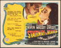 """Movie Posters:Fantasy, Stairway to Heaven (Universal International, 1946). Fine/Very Fine. Title Lobby Card (11"""" X 14""""). Fantasy.. ..."""