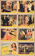 """Movie Posters:Musical, You Were Never Lovelier (Columbia, 1942). Overall: Fine. Lobby Card Set of 8 (11"""" X 14""""). Musical.. ... (Total: 8 Items)"""