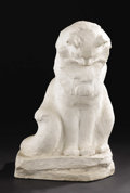 Sculpture, Pou Pou (Pooh Pooh). Harriet Whitney Frishmuth (1880-1980), American. 1941. Cement with industrial paint. 22.75 inches...