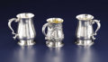 Silver Holloware, British:Holloware, A George III Silver Tankard. William Shaw & William Priest,London, England. Circa 1762-1763. Silver and silver gilt . Mar...(Total: 3 )