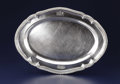 Silver & Vertu:Hollowware, A George III Silver Platter. Paul Storr, London, England. Circa 1803-1804. Silver. Marks: (lion passant), (leopard's head ...