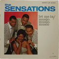 """Music Memorabilia:Recordings, Sensations """"Let Me In / Music, Music, Music"""" Mono LP (Argo 4022,1963). The R&B vocal group had a minor it with """"Music, Musi..."""